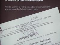 Libro '1933-2013: 80 anos da participación e admisión de Galicia no Congreso de Nacionalidades Europeas'