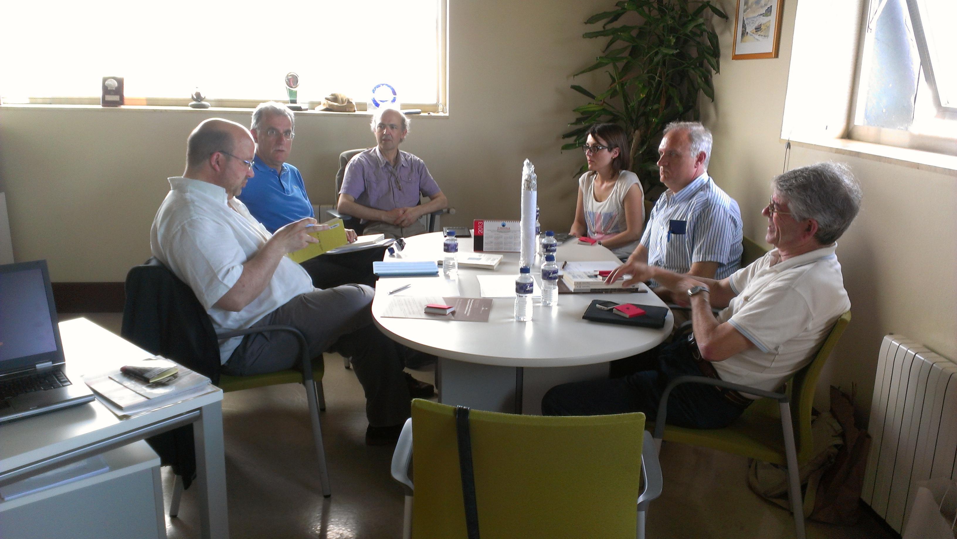 Deliberacións do xurado da XII edición do Premio de Tradución Plácido Castro / 2013-07-02