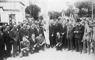 Nunha homenaxe a Castelao en Lugo, 1932