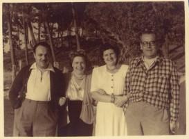 Con Jesusa, Darío Álvarez Blázquez e a súa dona