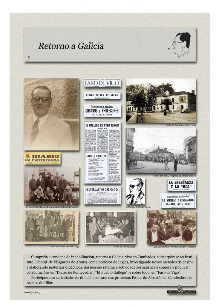 Exposición - Retorno a Galicia