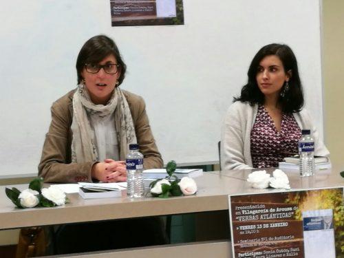 """Presentación do libro """"Verbas Atlánticas"""" en Vilagarcía de Arousa"""