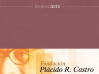 Memoria da Fundación Plácido Castro 2015 (capa)
