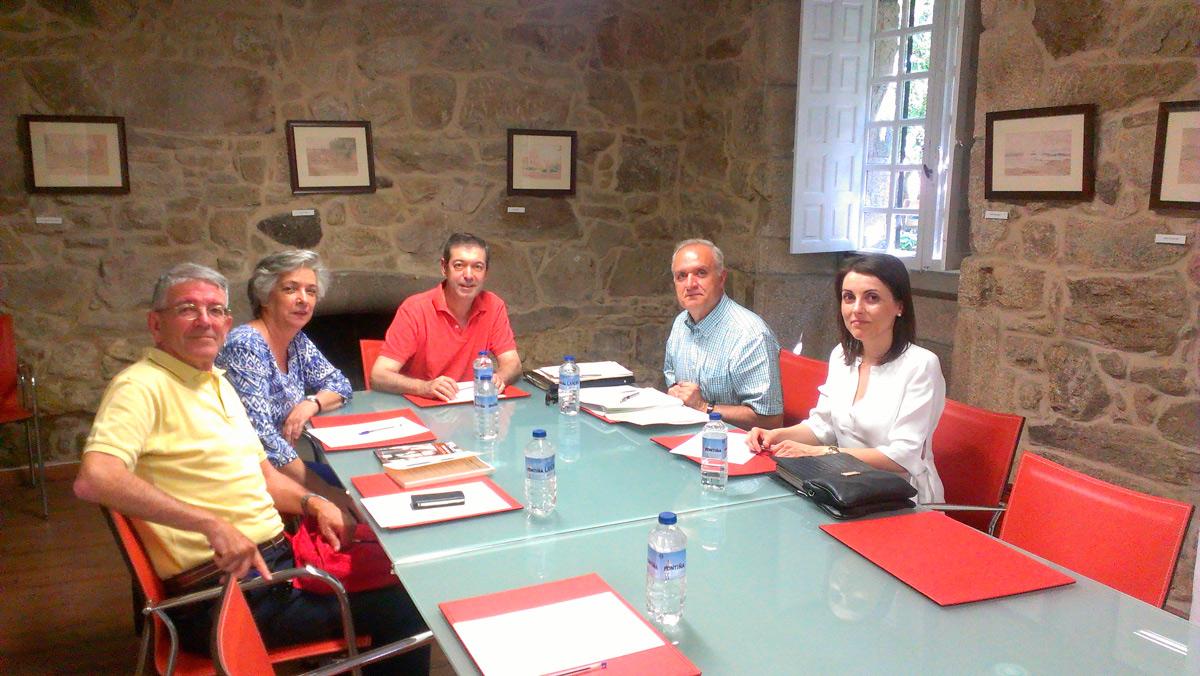 Reunión do Padroado da Fundación Plácido Castro 10 de Xullo de 2014