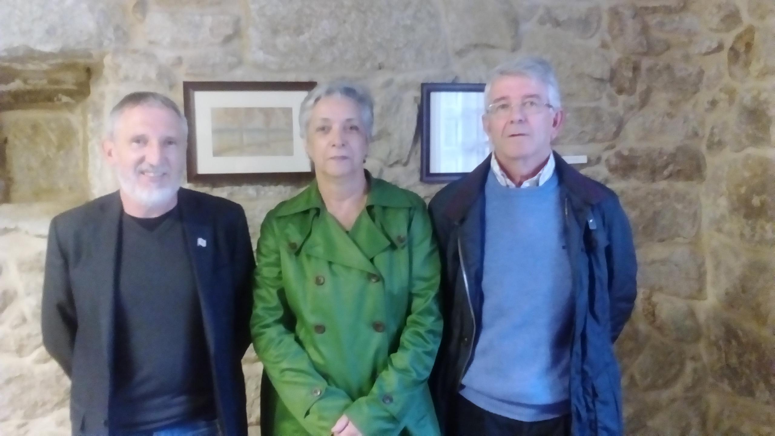 Víctor M. Caamaño Rivas, en representación do Concello de Cambados, sumouse ao Padroado da Fundación  Plácido Castro (primeiro pola esquerda)