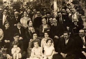 Plácido Castro na Festa da Pastora, Cambados 1925