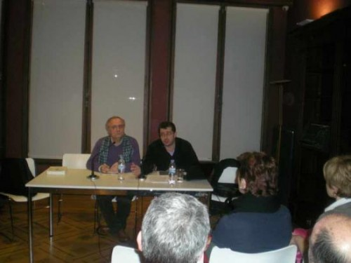 2011/01/25. Na Coruña. XII Conferencia Anual Plácido Castro