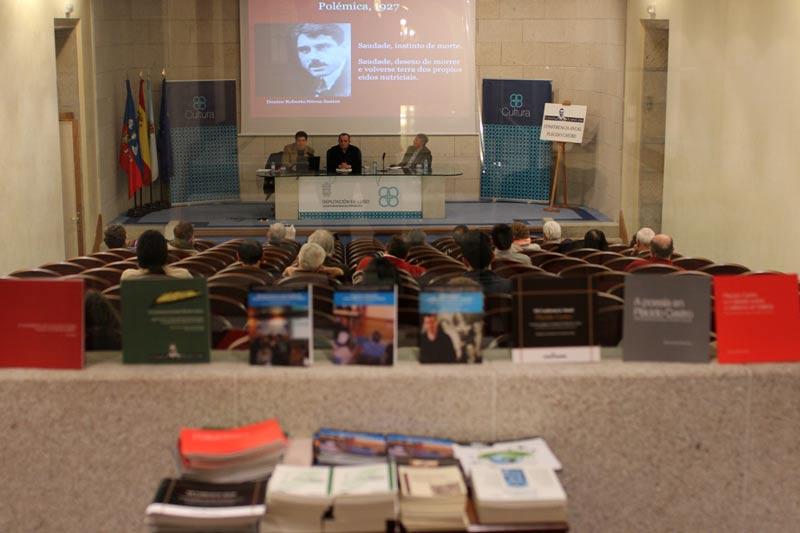 XIII Conferencia Anual Plácido Castro Saudade e Galeguismo_ A visión de Plácido Castro. Miguel A. Martínez Quintanar no Salón de Actos da Deputación Provincial de Lugo.