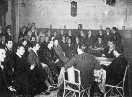 Asemblea fundacional do Partido Galeguista, decembro1931
