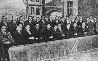 Primeiro mítin na Coruña do Partido Galeguista, 1932