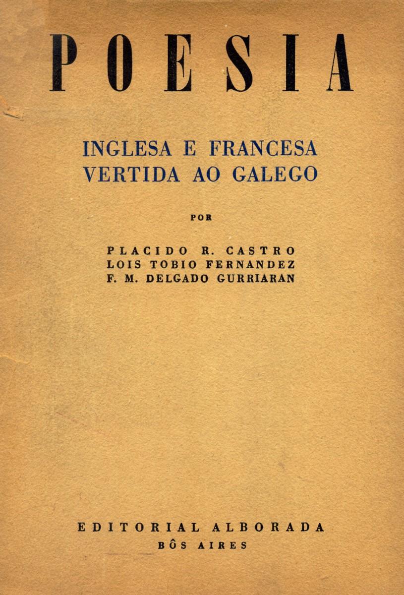 """Libro """"Poesia inglesa e francesa vertida ao galego"""" da Fundación Plácido Castro"""