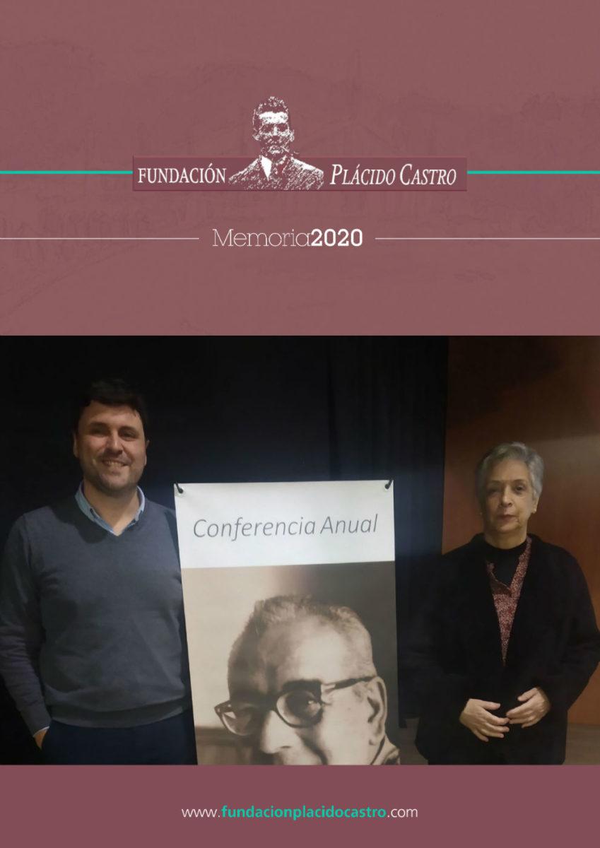 Memoria de actividade da Fundación Plácido Castro 2020