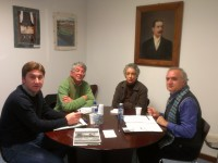 Presentación do libro Irlanda en Plácido Castro en Corcubión 2013-02-01