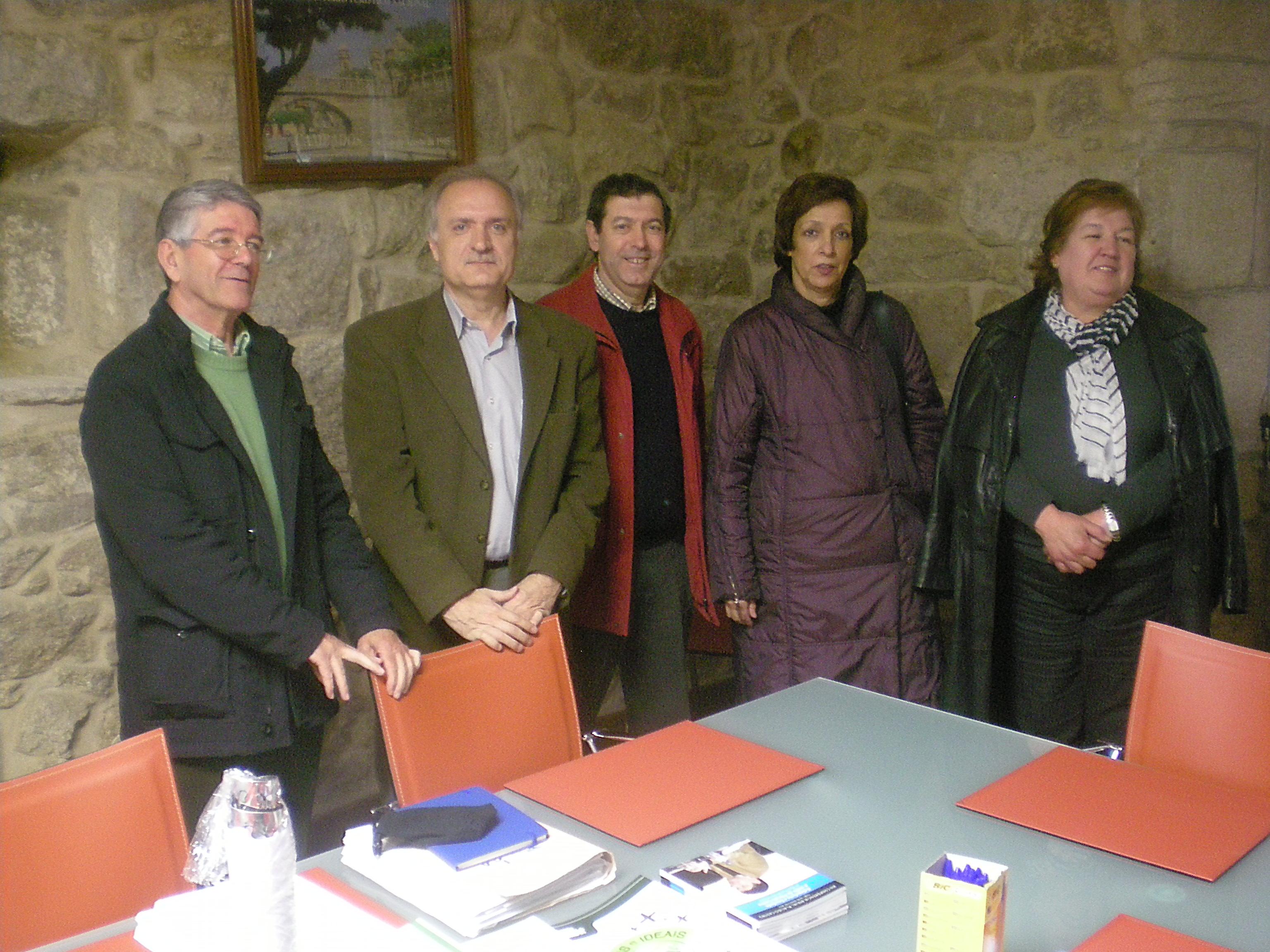 Reunión do Xurado da Fundación Plácido Castro