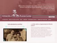 Captura de pantalla da web da Fundación
