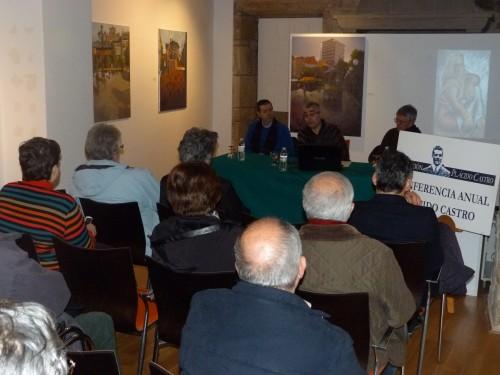 XV Conferencia Anual Plácido Castro, do 27 de xaneiro en Cambados