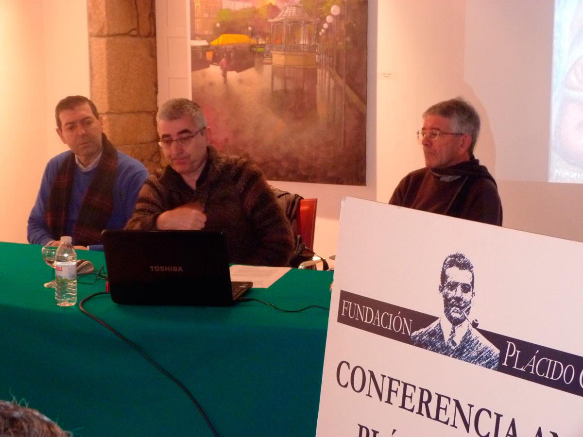 XV Conferencia Anual Plácido Castro, do 27 de xaneiro de 2014 en Cambados.